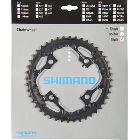 Shimano Deore XT Trekking FC-T780/FC-T781 Zębatka rowerowa AE 10 rz. Do osłony korby